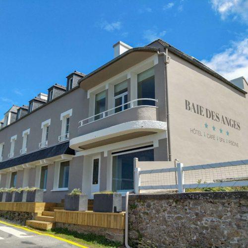Ravalement façade par Bilcot peinture dans le Finistère