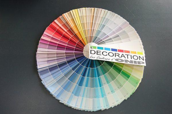 Nuancier de couleur, Peinture Brest, coloris,