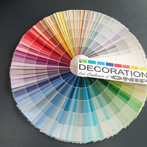 Nuancier de couleur, Peinture Brest, couleurs